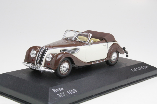 BMW 327 Convertible 1939, ruskea/beige